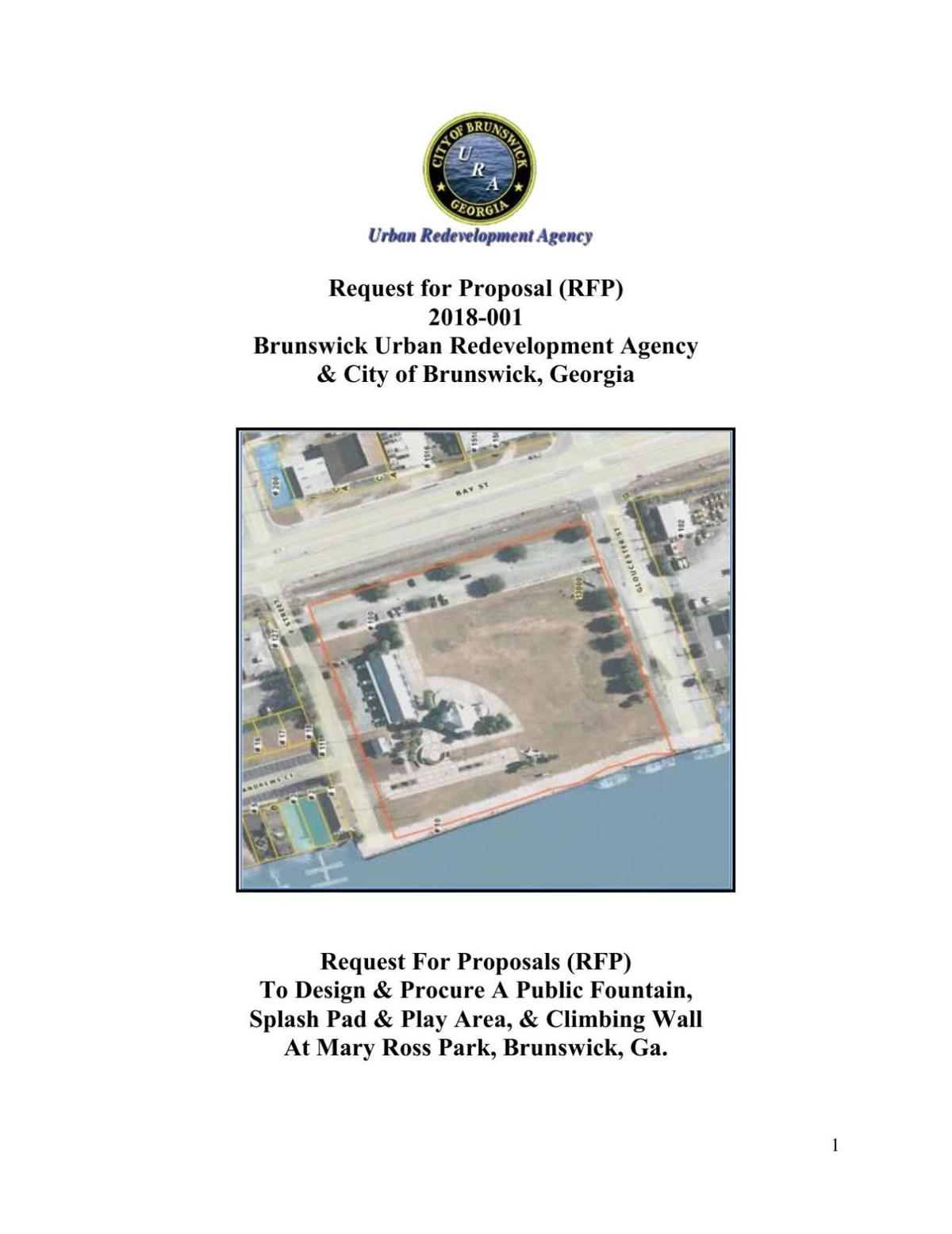 Pdf Brunswick Urban Redevelopment Agency Mary Ross Waterfront Park Request For Proposal