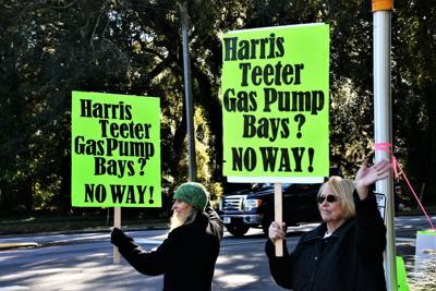 Harris Teeter protest