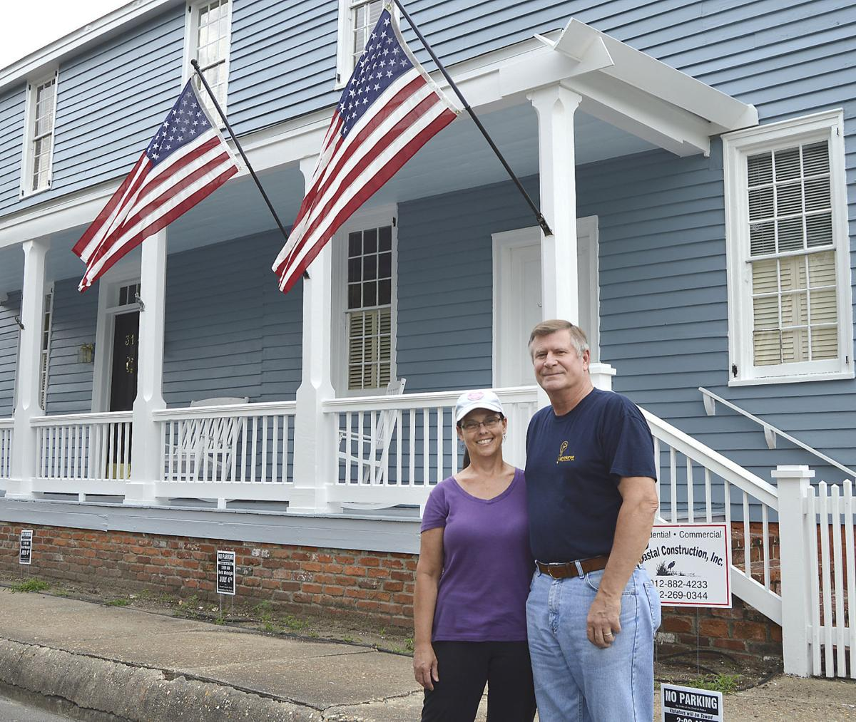 Couple Renovating Historic St. Marys Home