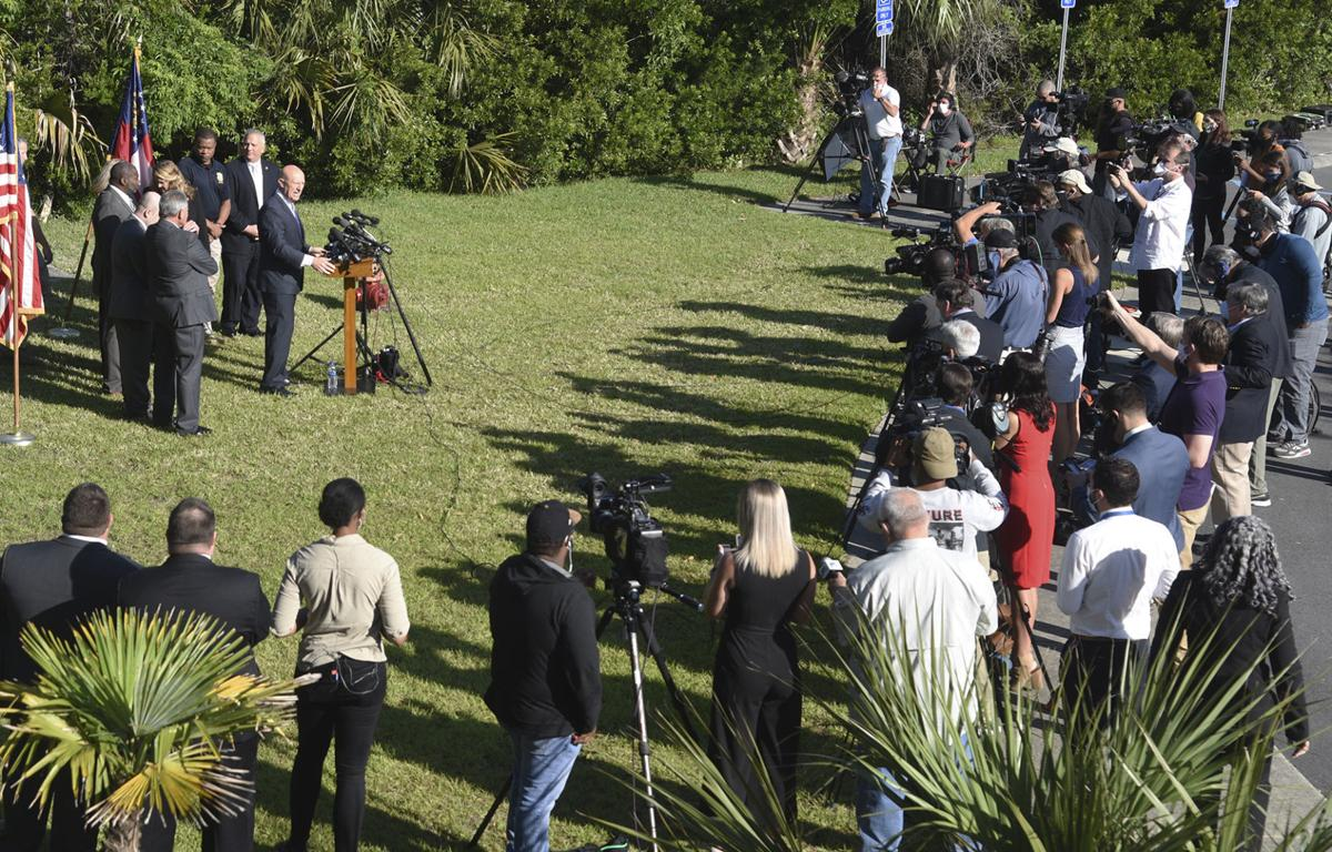 mcmichael press conference