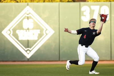 Randon Jernigan's football background helps him on the baseball diamond