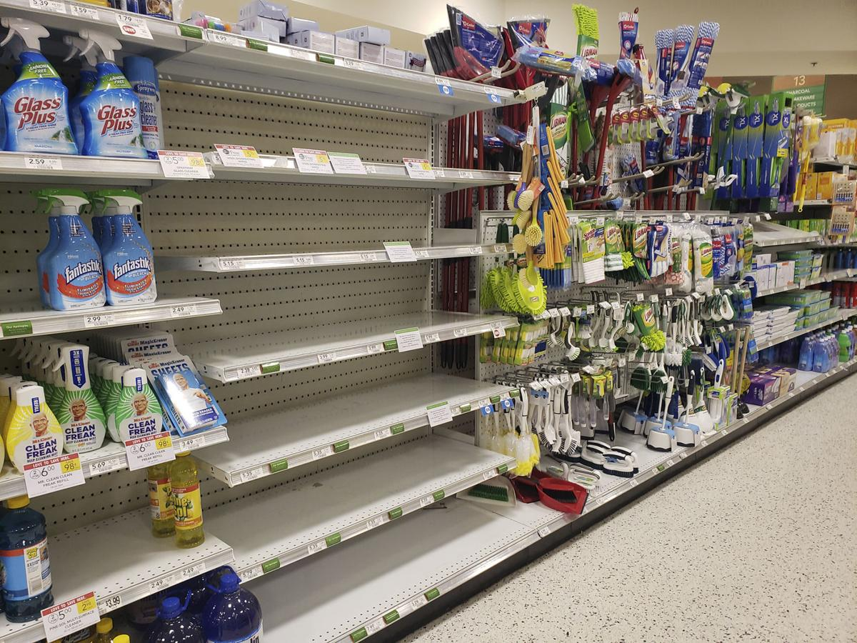 Products Flying Off Shelves At Local Grocery Stores Local News The Brunswick News