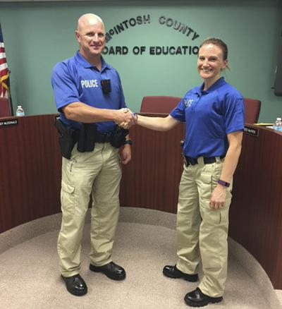 McIntosh County Schools adds to police staff | Community Life | The