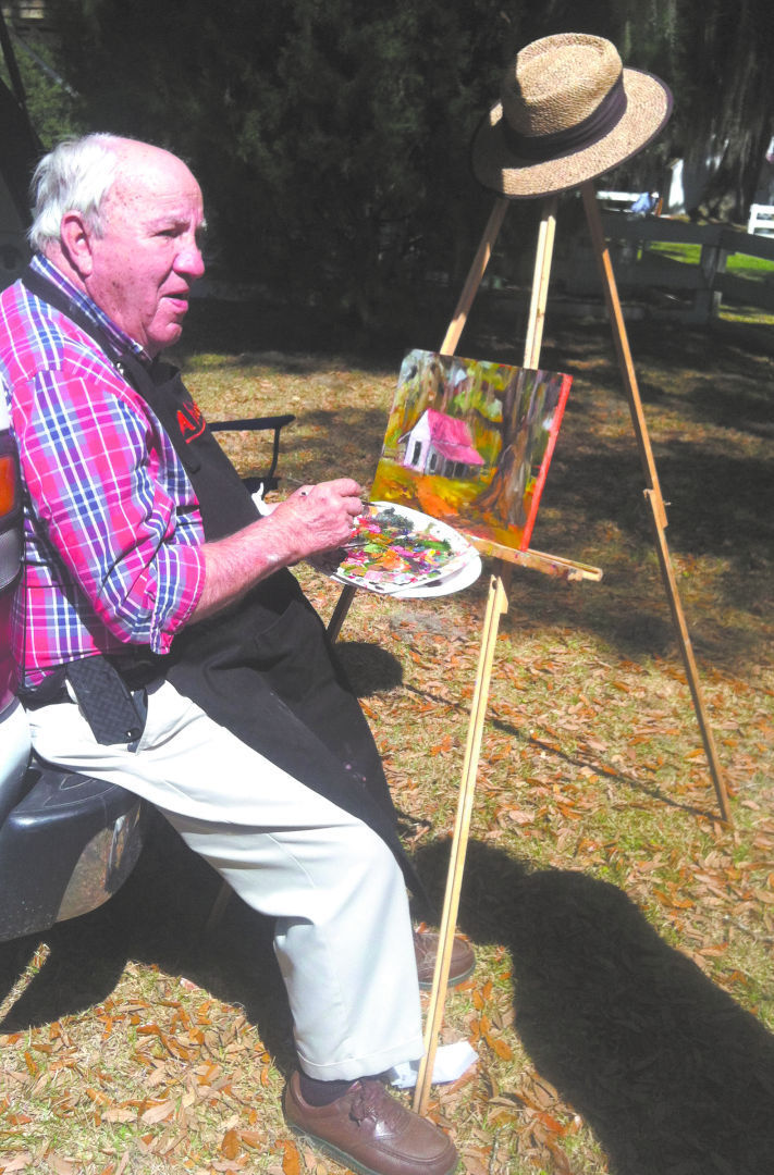 Artists turn out for Albert Fendig 'Plein Air' Affair