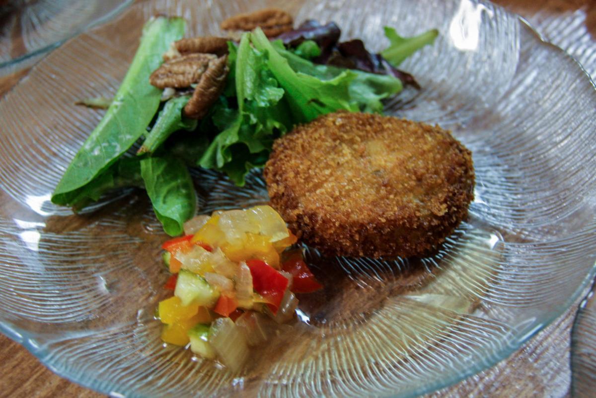 TALICA (fried green tomato salad print)