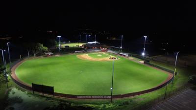Overhead of Wainwright Field