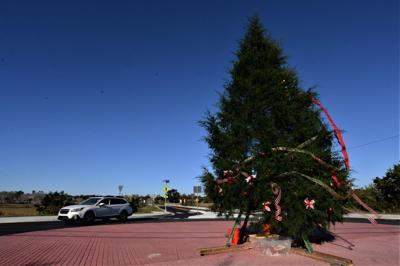 Roundabout Christmas Tree