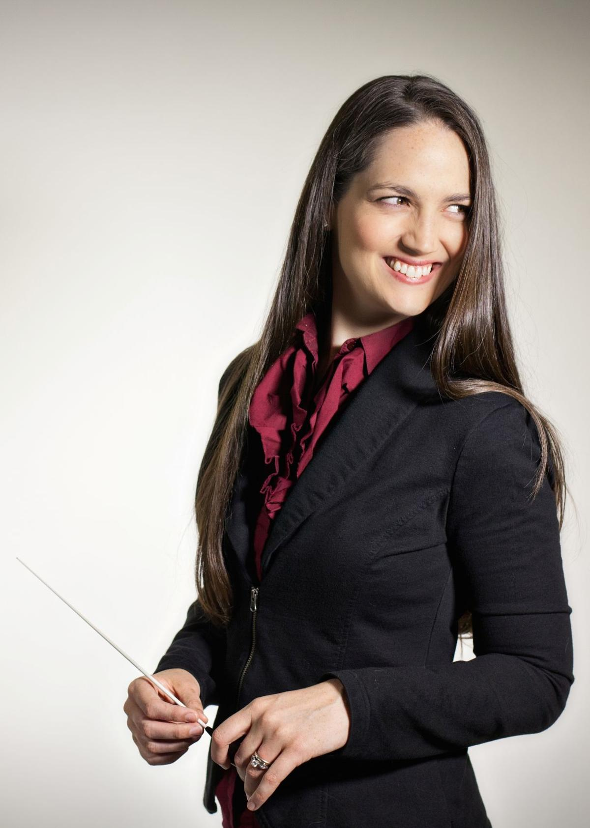 Michelle Merrill to replace Luis Haza as symphony conductor music