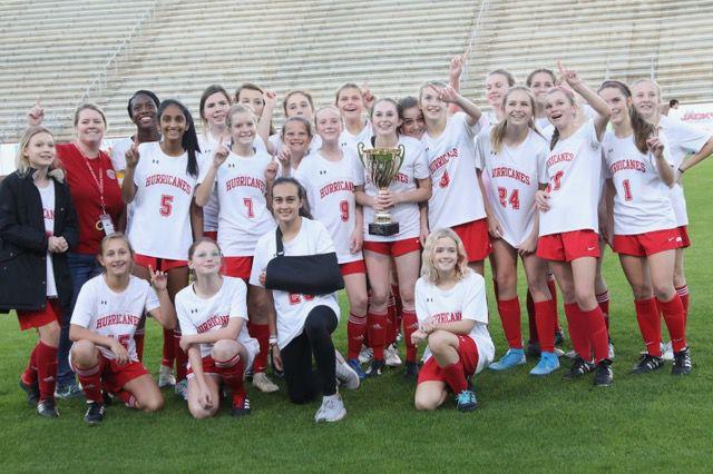 GA middle girls soccer