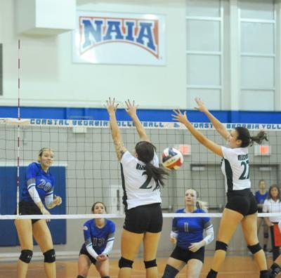 CCGA volleyball vs Webber