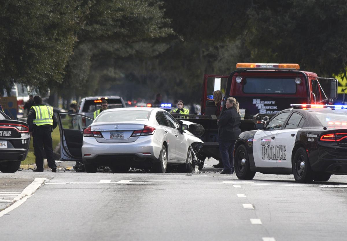 Police chase ends with crash at Brunswick intersection | Local News