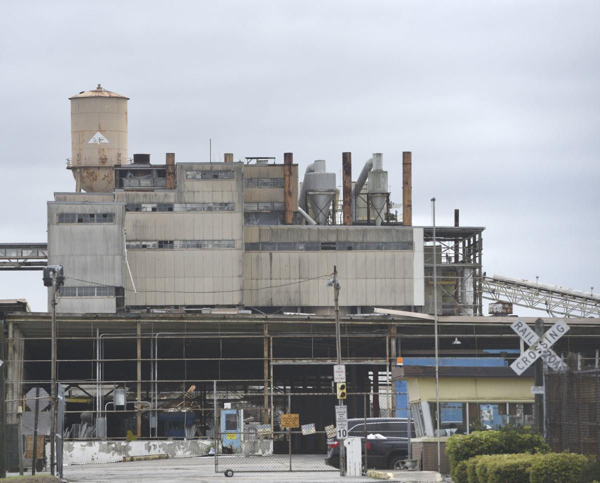Former gypsum plant to be razed local news the