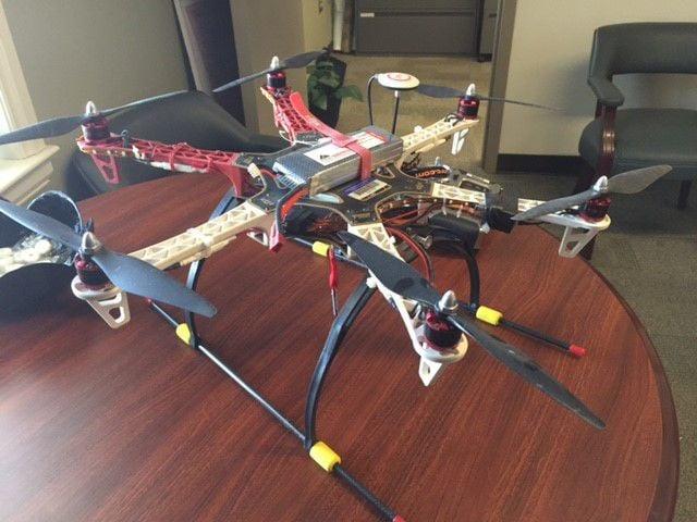 Drone seized