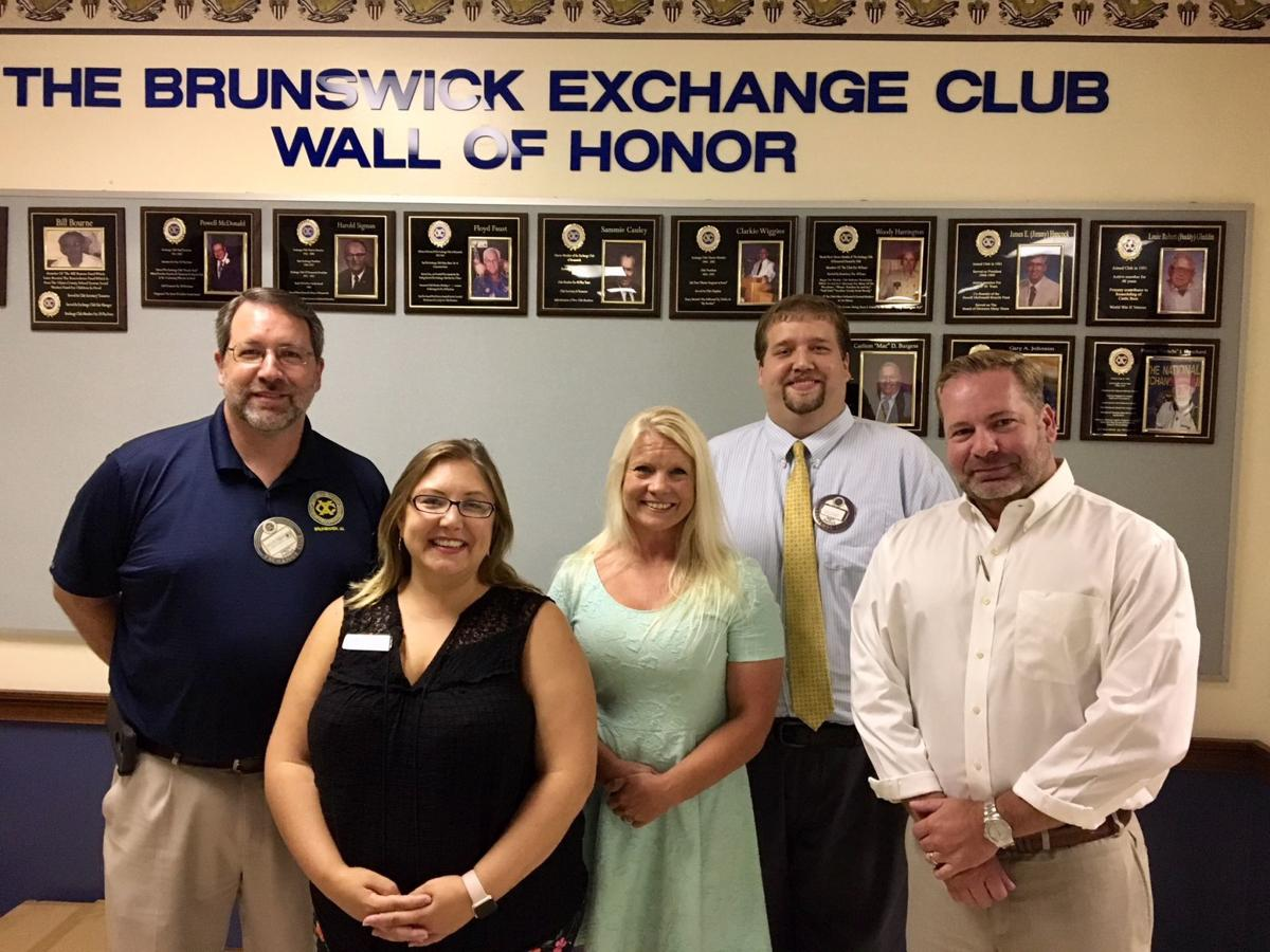 Exchange Club of Brunswick welcomes district vice president and senior program director pic