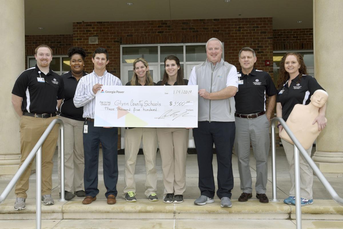Coaches Receive Cpr Certification Through Georgia Power Donation