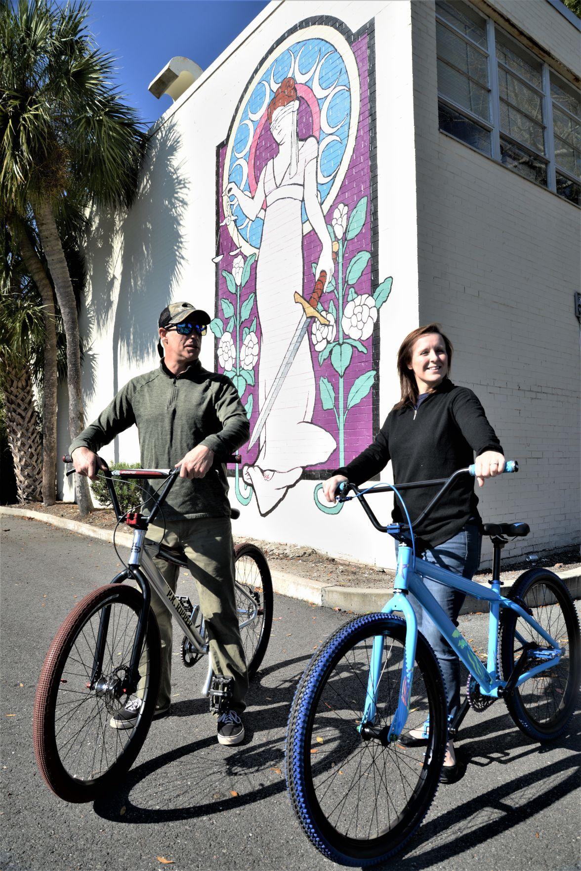 Mural bike ride