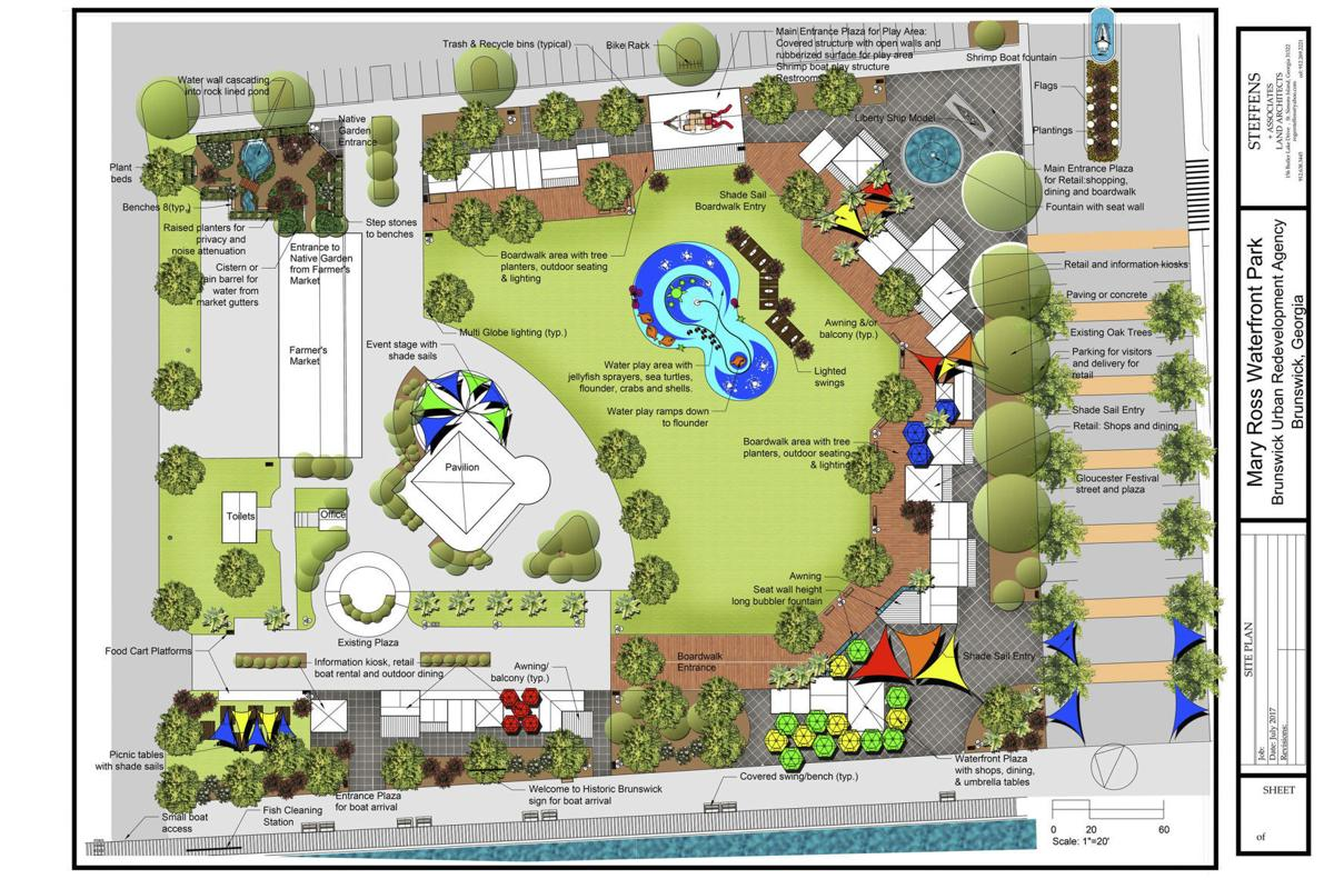 Mary Ross park plans