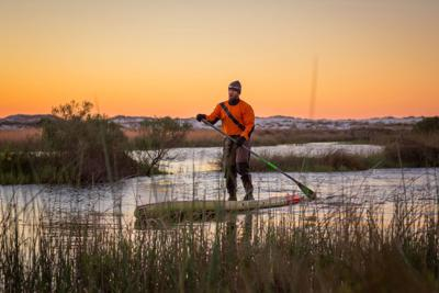 Former Delta Force operative paddles through Golden Isles