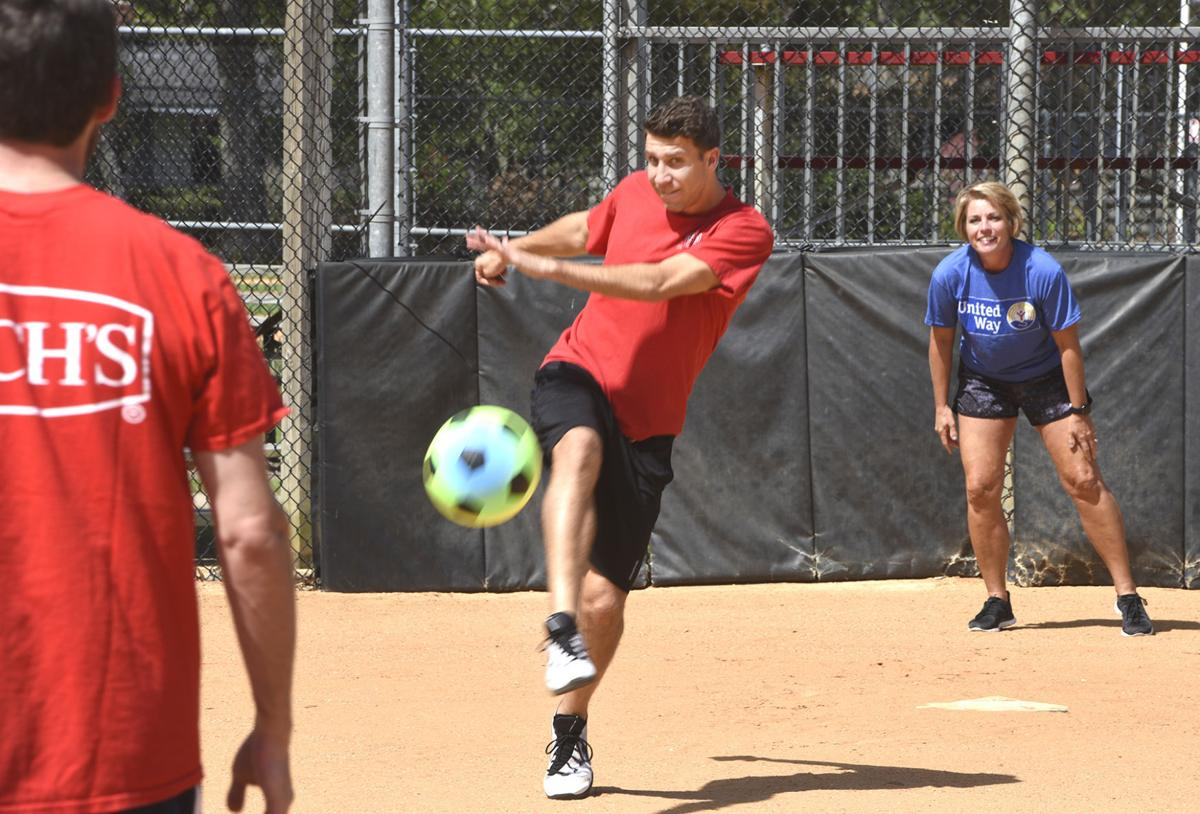 kickball action