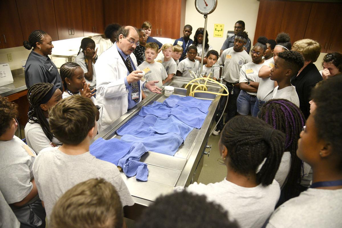 morgue tour