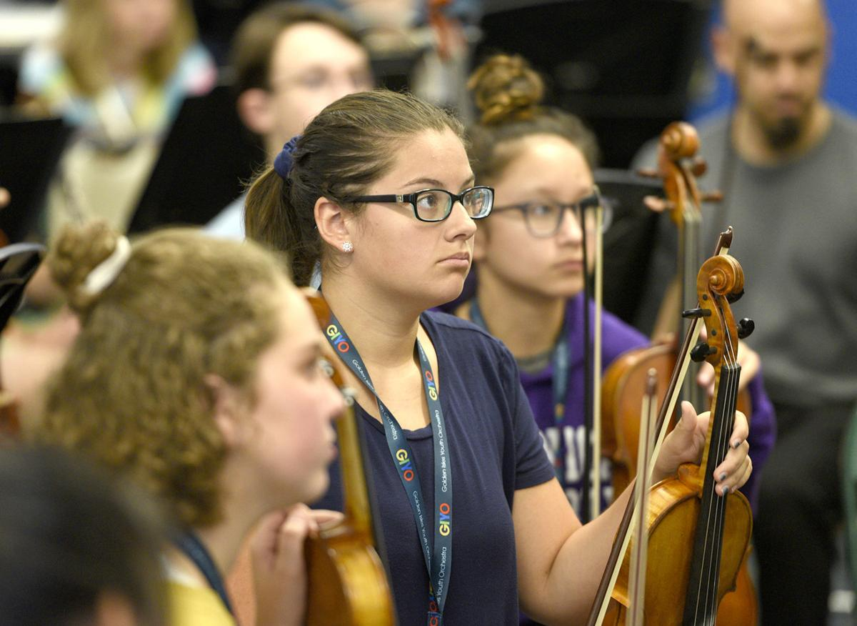 Golden Isles Youth Orchestra camp