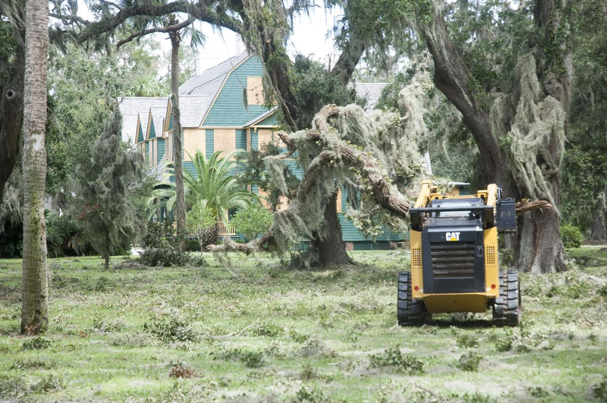 Jekyll Island still closed, but cleanup underway