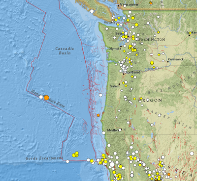 Undersea Earthquakes