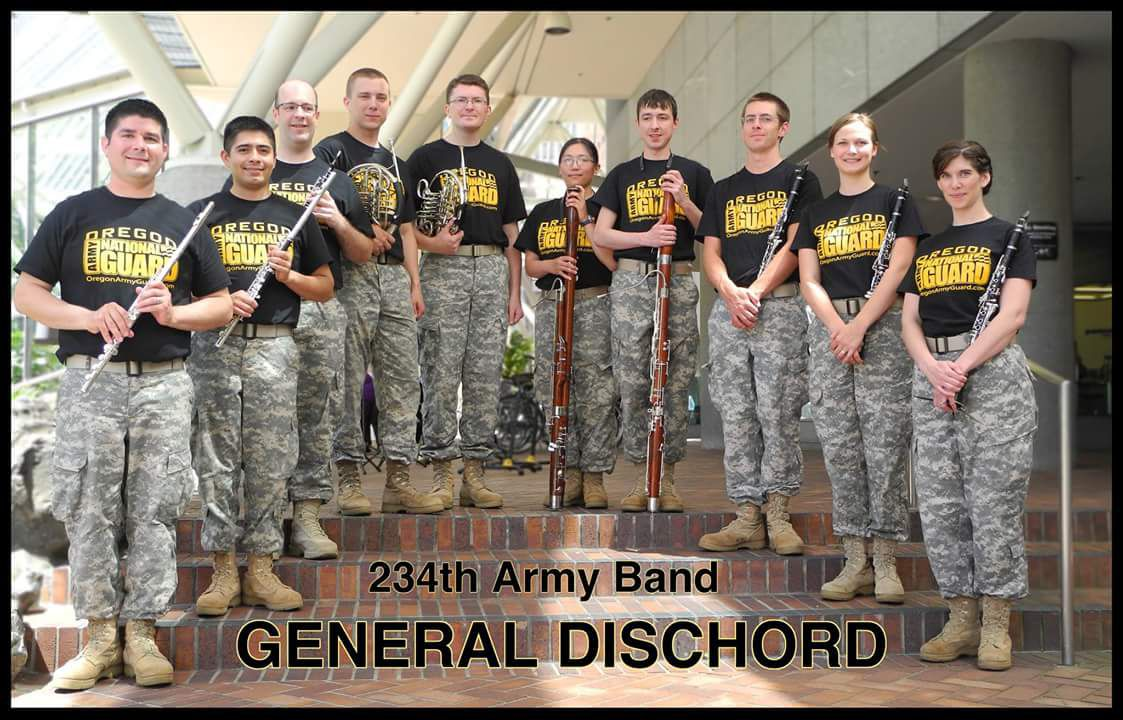 FREE CONCERTS: General Discord, Empire Builders Concert Band