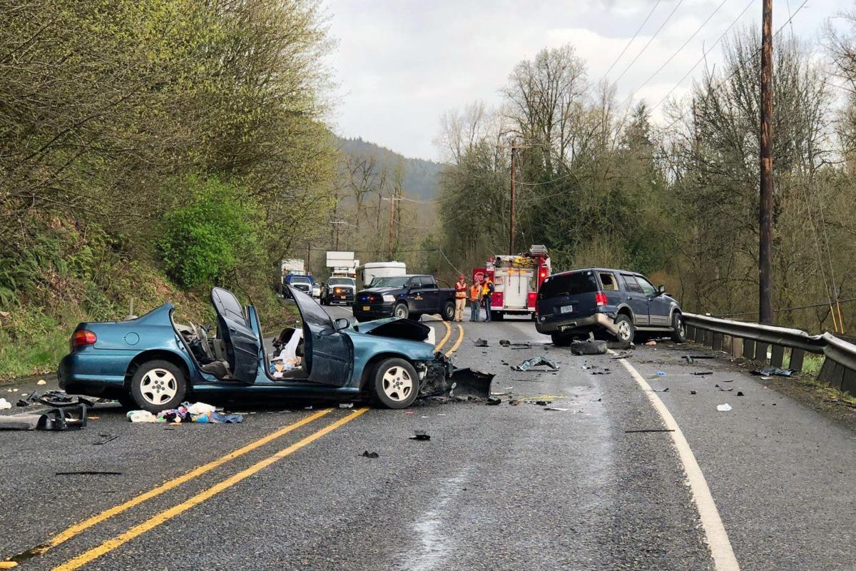 Crash injures four near Prescott