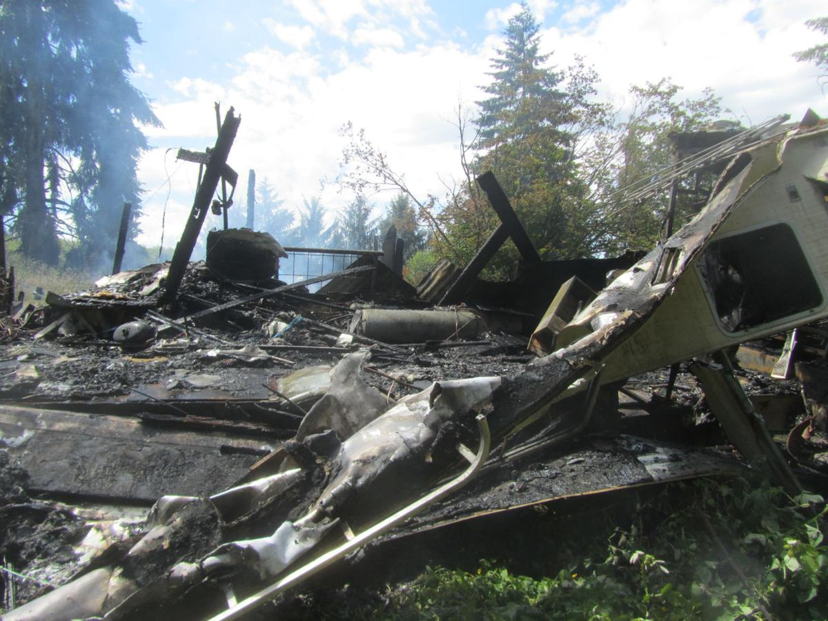 Severe Fire Damage