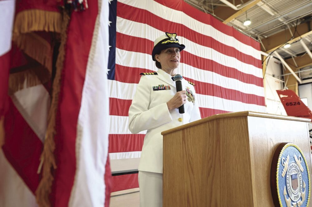 Coast Guard Sector North Bend transfers command