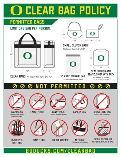 Stadium Bag Policy
