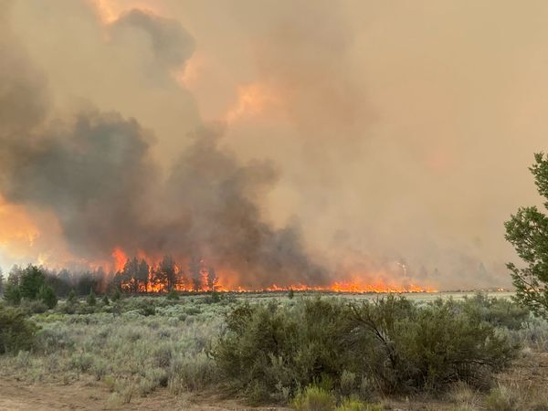 Central Oregon Wildfire