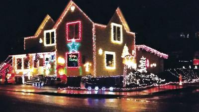 Rainier residents decorate for holidays