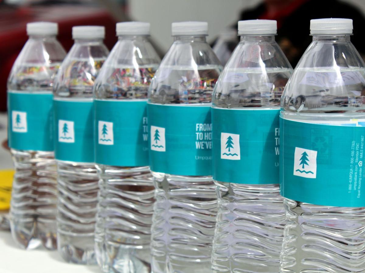 Umpqua Bank provides bottled water