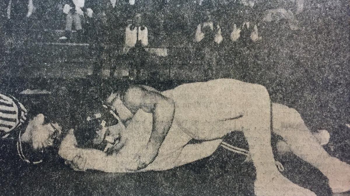 Tigers 1970 Wrestling
