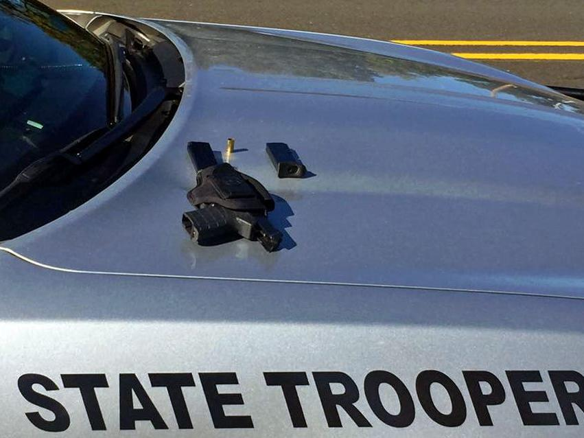 Shots fired on highway