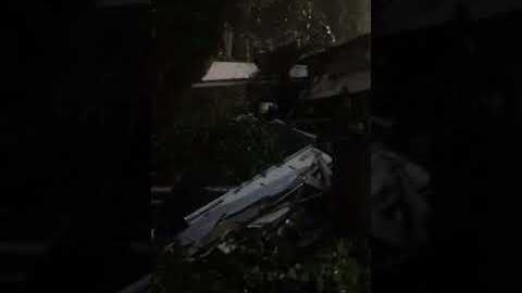 The wreckage of Amtrak Cascades passenger train 501