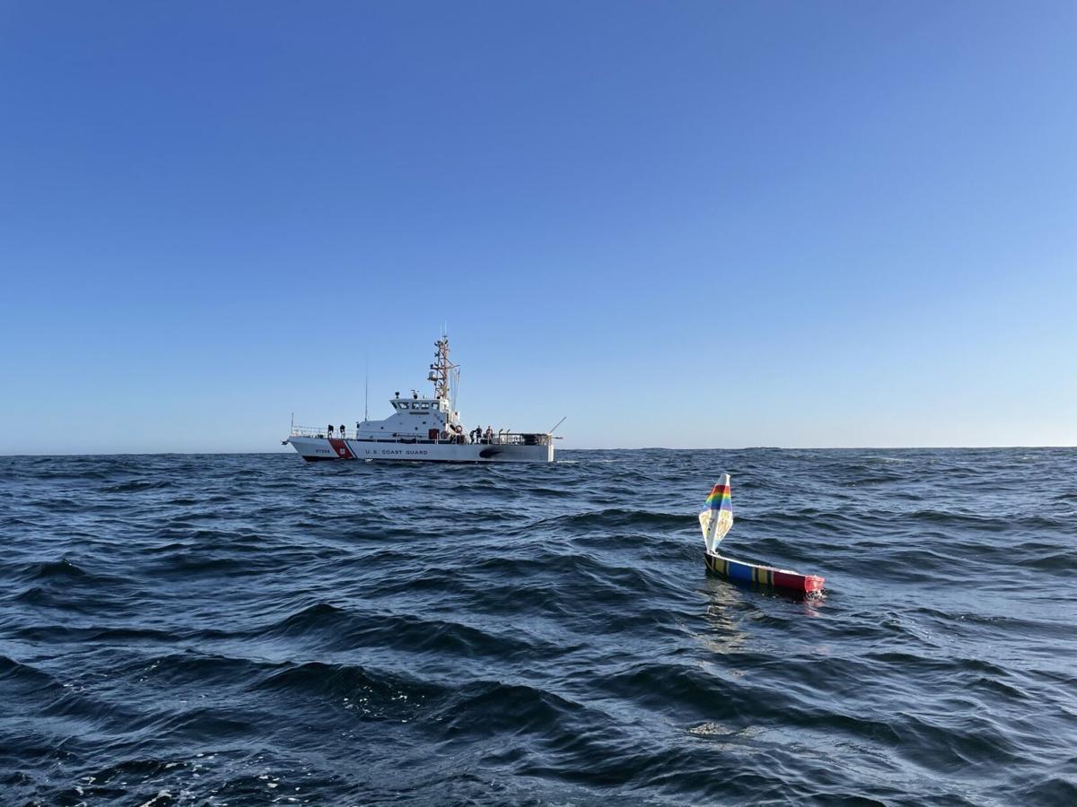 Coast Guard launches student miniboats