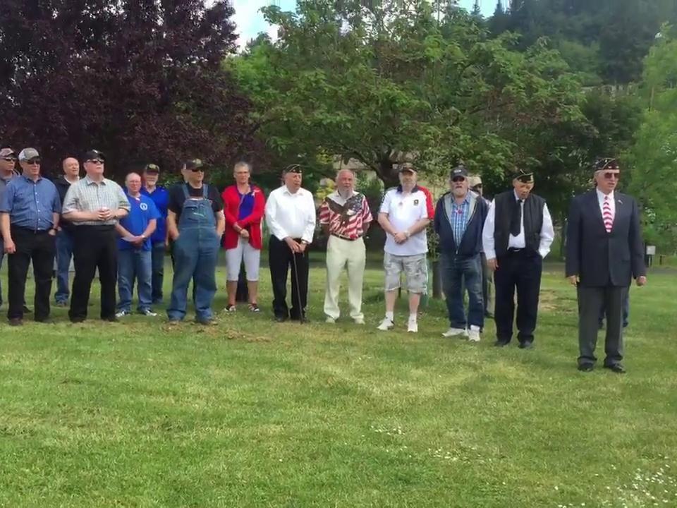 Memorial Day in Clatskanie