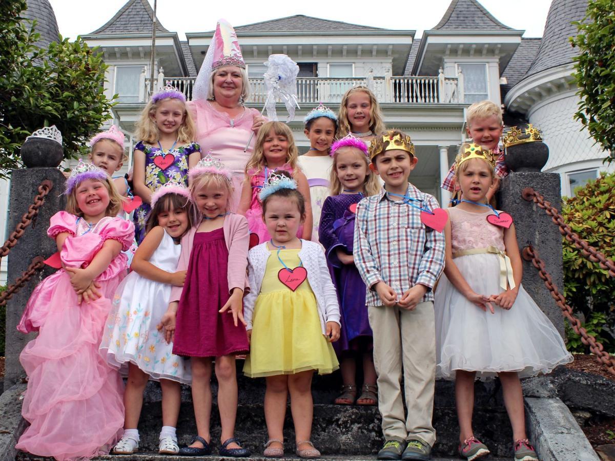 Fairy Godmother trains Princes and Princesses