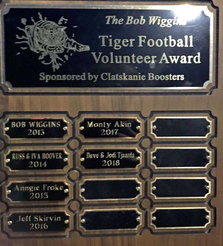 Wiggins Football Award
