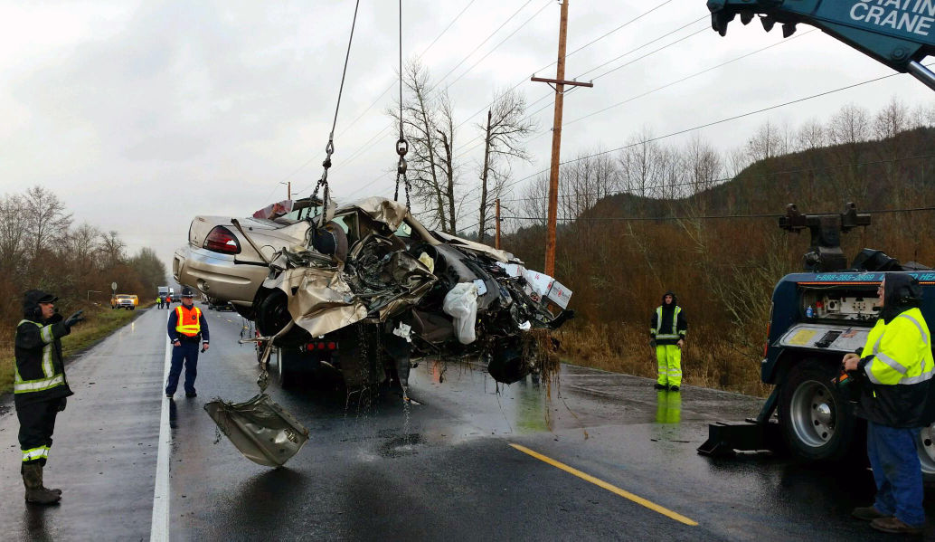 Hwy 30 crash
