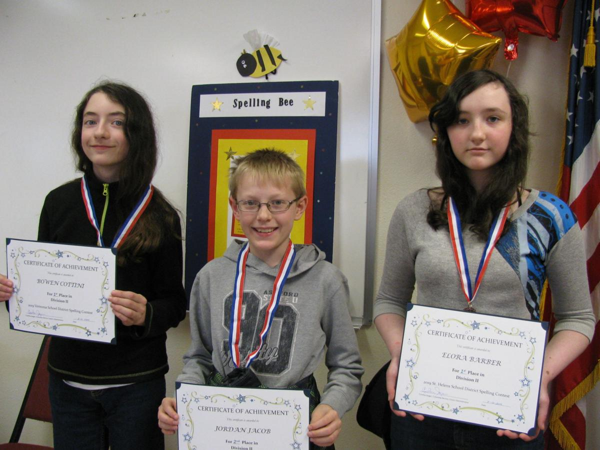 Three Columbia County students headed to state spelling bee