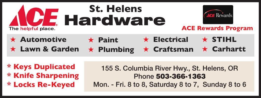 Ace Hardware St Helens Oregon
