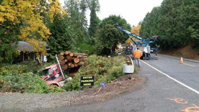 Fatal crash with log truck closes Highway 30 | News