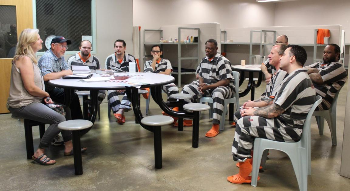 Life lessons program prepares inmates for life outside jail