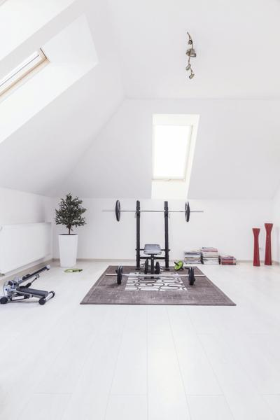 How to design a fitness room at home