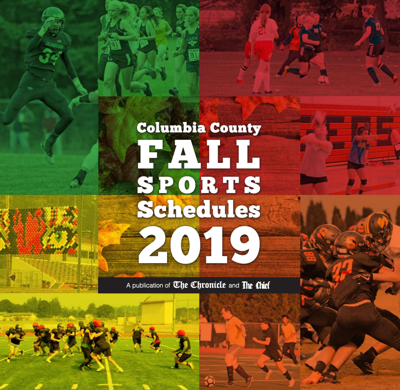 2019 Columbia County Fall Sports Schedules