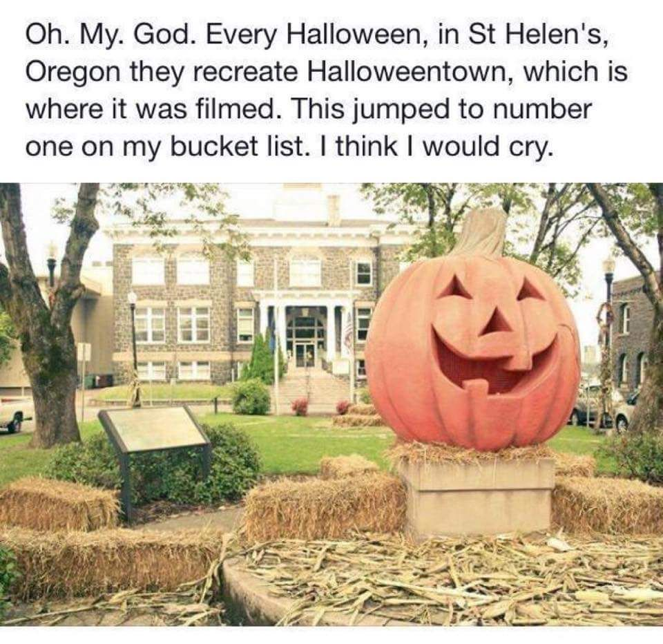 Plans underway for 2016 Halloweentown events | Out & About ...